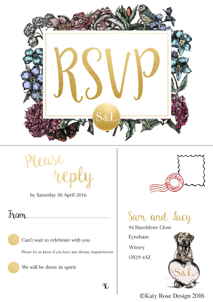 Sam and Lucy RSVP